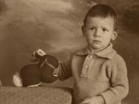 1931 jongentje Wim Strijbosch