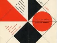 1957 Geboortekaart Judith Strijbosch