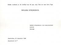 1968 Wim Strijbosch overlijden