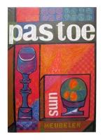 jaartal onbekend, Affiche Pastoe meubelen
