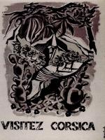 1955 Affiche Corsica