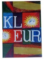 1958 affiche voor tentoonstelling Kleur