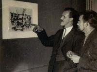 1954 tentoonstelling, Wim Strijbosch en Jan Elburg