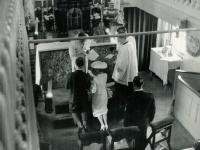 1956 Huwelijk in kerk Ons' Lieve Heer op Solder Amsterdam