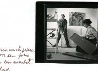 1955 foto inrichting meubelafdeling Bijenkorf
