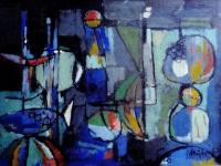 1954 Gouache 3