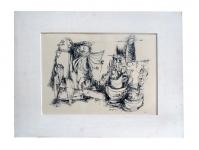 1954 inkt-papier nr57